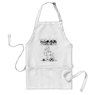 Proud to be a yorkshireman standard apron