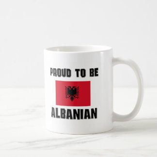 Proud To Be ALBANIAN Classic White Coffee Mug