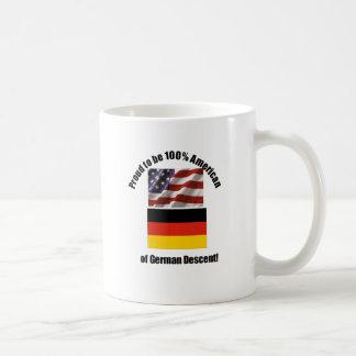 Proud to be American of German of German Descent Coffee Mug