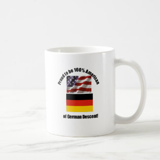 Proud to be American of German of German desent Coffee Mug