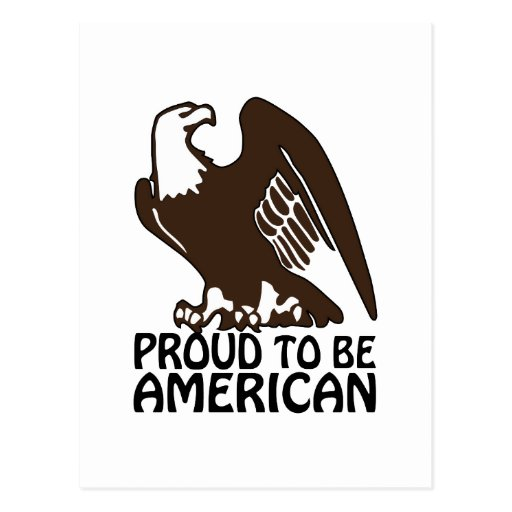 Proud To Be American Post Cards