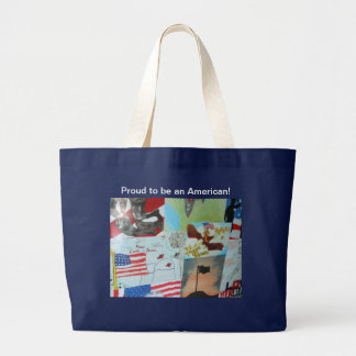 Proud to be an American! Canvas Bag
