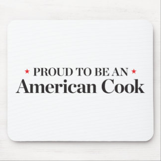Proud to be an American Cook Mouse Mat