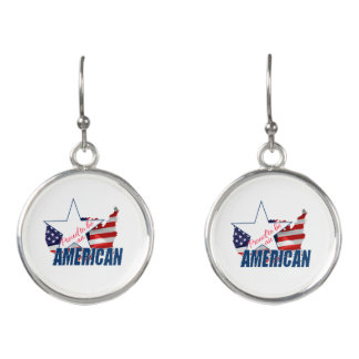 Proud to be an American Earrings