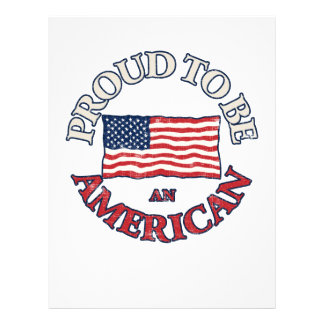 Proud to be an American Custom Flyer
