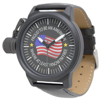 Proud To Be An American Luxury Designer Watch