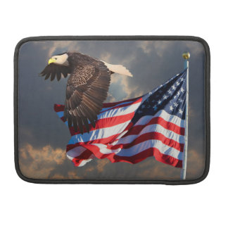 PROUD TO BE AN AMERICAN SLEEVE FOR MacBooks
