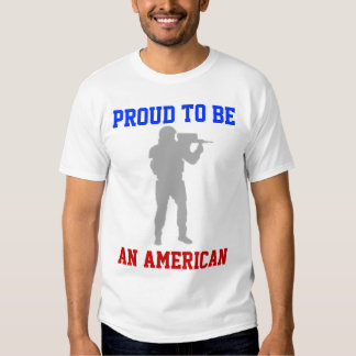 Proud to be an American Tee Shirts