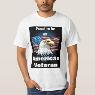 Proud to be an American Veteran T-Shirt
