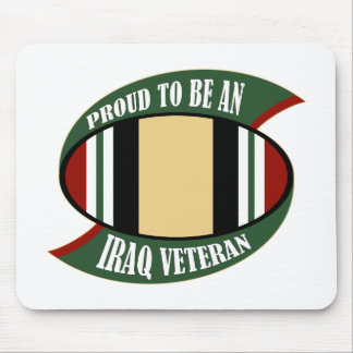 Proud To Be An Iraq Veteran Mouse Pad