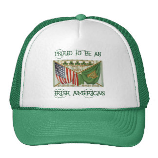 Proud to be an Irish American Hat