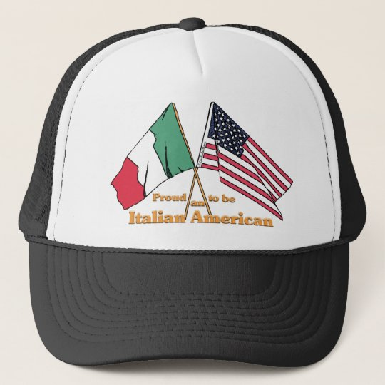 Proud To Be An Italian American Cap