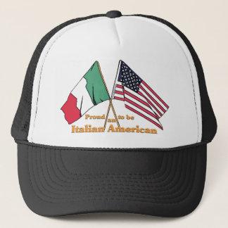Proud To Be An Italian American Trucker Hat