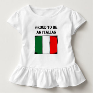 Proud To Be An Italian Toddler T-Shirt