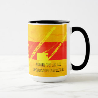 Proud to Be an Operating Engineer Southwest Colors Mug