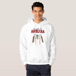 Proud to be Arikara Basic Hooded Sweatshirt