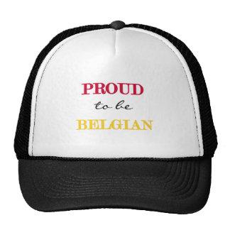 Proud To Be Belgian Hat