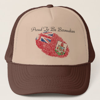 Proud To Be Bermudian Items Trucker Hat