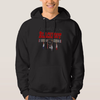 Proud to be Blackfoot Adult Hooded Sweatshirt