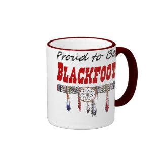 Proud to be Blackfoot Coffee Mug Ringer Mug