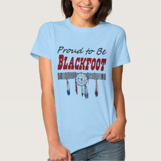 Proud to be Blackfoot Ladies Fitted T-Shirt