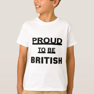 Proud to be British T-shirts