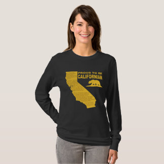 Proud to be Californian LongSleeve DK T-Shirt