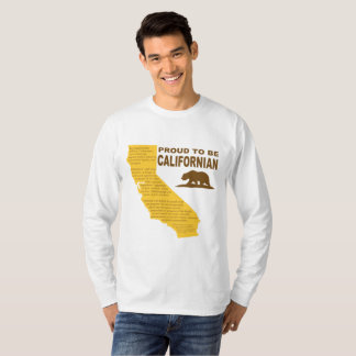 Proud to be Californian Men's Long-Sleeve Tee LT