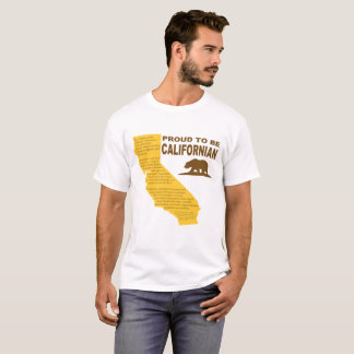 Proud to be Californian Men's Tee LT