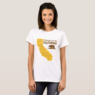 Proud to be Californian T-Shirt