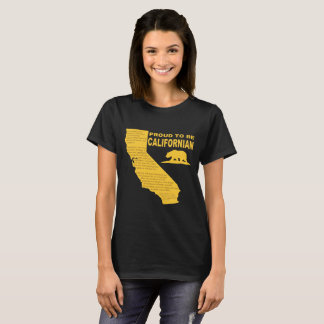 Proud to be Californian Women's Tee DK