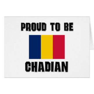Proud To Be CHADIAN Cards