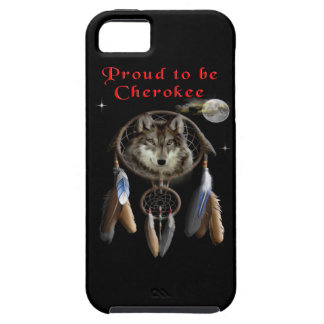 proud to be cherokee tough iPhone 5 case