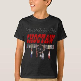 Proud To Be Choctaw Kid's Dark T-shirt
