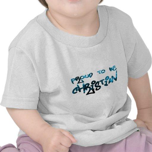 Proud to be Christian Graffity T-shirt