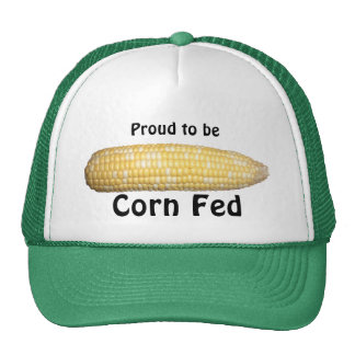 """Proud to be Corn Fed"" Ear of Corn Hat"