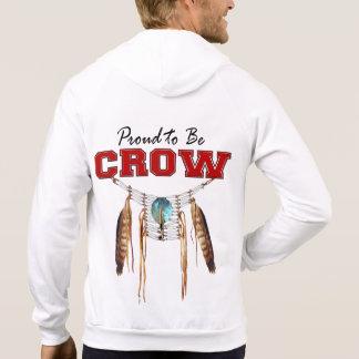 Proud to be Crow Fleece Zip Hoodie
