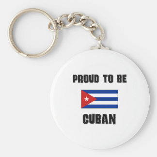 Proud To Be CUBAN Keychains