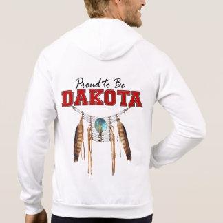Proud to be Dakota Fleece Zip Hoodie