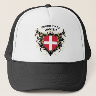 Proud to be Danish Trucker Hat