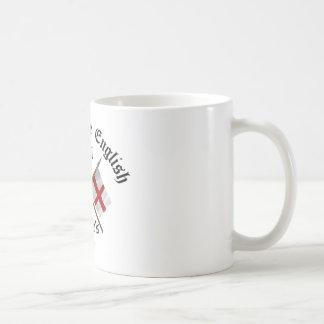 Proud-To-Be-English Saint Georges Day. Basic White Mug