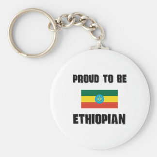 Proud To Be ETHIOPIAN Key Ring