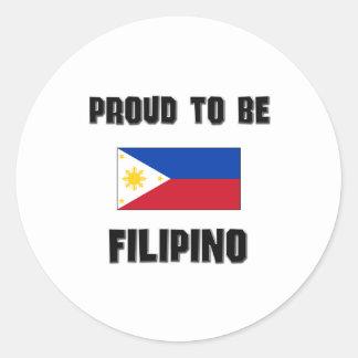 Proud To Be FILIPINO Sticker