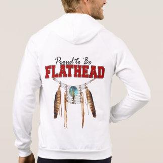 Proud to be Flathead Fleece Zip Hoodie