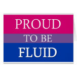 Proud to be Fluid Card