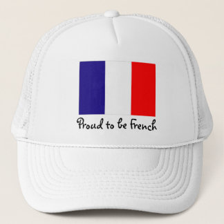 Proud to be French Flag Ball Cap