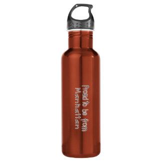 Proud to Be from Manhattan Water Bottle (24 oz) 710 Ml Water Bottle