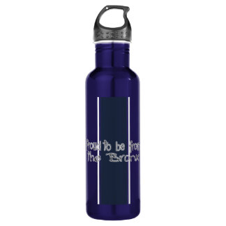 Proud to Be from the Bronx Water Bottle (24 oz) 710 Ml Water Bottle