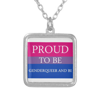 Proud to Be Genderqueer and Bi Jewelry