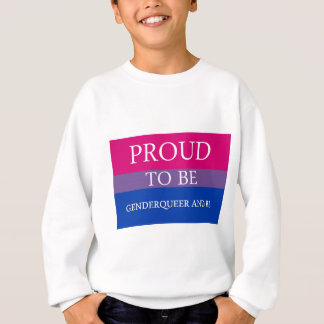 Proud to Be Genderqueer and Bi T Shirt